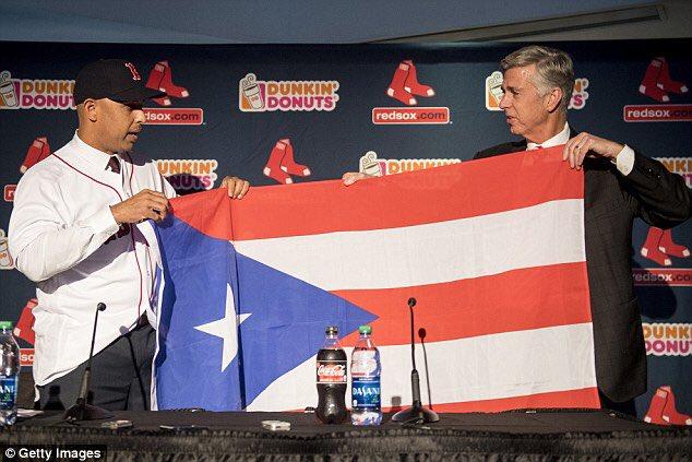 Congratulations to Alex Cora for making us Puerto Ricans proud tonight no matter the uniform, lol 😂 @redsox 🇵🇷 #MLB https://t.co/qH7egVNmu6