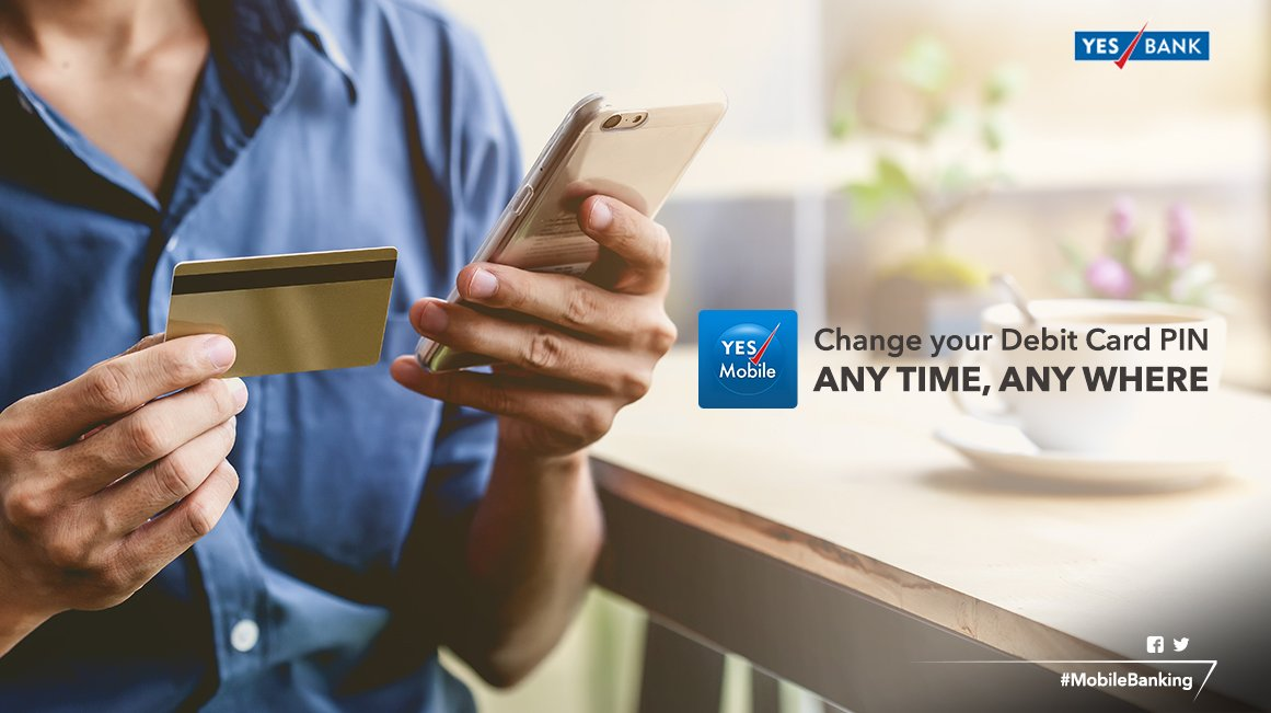 ... Debit Card is login to YES Mobile! So say bye-bye to visiting the branch & download the app now http://onelink.to/7v72dc pic.twitter.com/Tkft78O1e5
