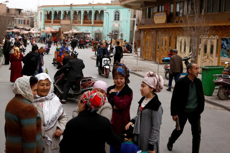 #China state paper accuses west of double standards on #Xinjiang https://t.co/Rf1qza0BMP