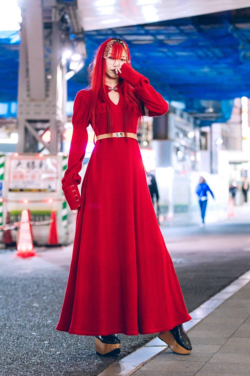Japanese fashion designer @Sioux at Tokyo Fashion Week. Shot by us for VogueUSA https://t.co/MrtqU3aKki