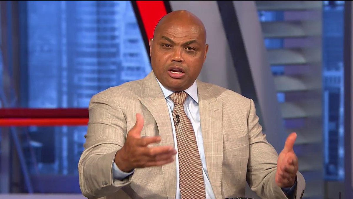 😂💀 The great Charles Barkley has a message for a lot of you idiots on #NBATwitter