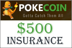Image for Pokecoin Online added to Premium Insurance!