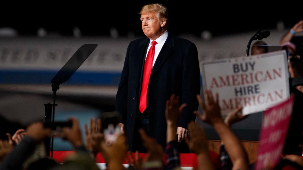 Trump droht mit Grenzschließung: 'Ich bin bereit dazu, das Militär zu schicken' https://t.co/XZlI6JzAYb