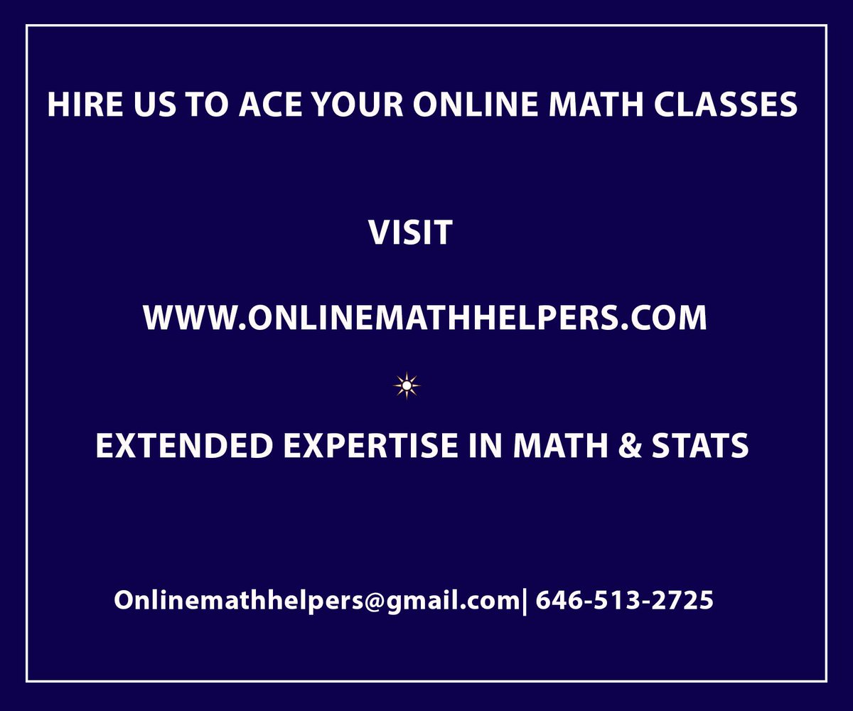 ONLINE MATH CLASS EXPERTS ARE HERE on Twitter: