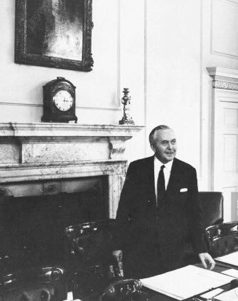 Tides Of History On Twitter Otd 1964 New Pm Harold Wilson Holds