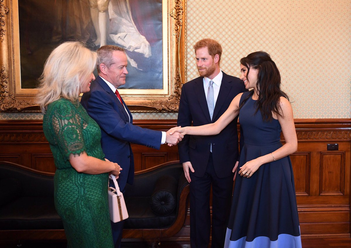 It was a privilege for Chloe and me to meet the Duke and Duchess of Sussex this afternoon to discuss their visit to Australia, including the Invictus Games, and their great work in youth mental health.