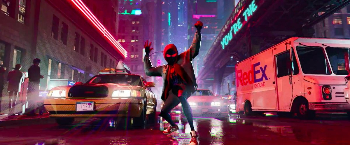 To see this gorgeous new Into the Spider-Verse footage, you must endure Post Malone https://t.co/LJ2r0oRSni