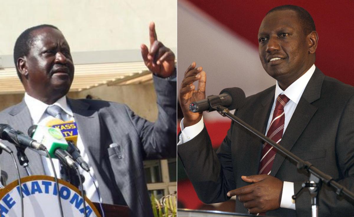 Prepare for a Tough Battle, DP Ruto Tells Raila Odinga: https://t.co/mnvCmbkLZo #Kenya