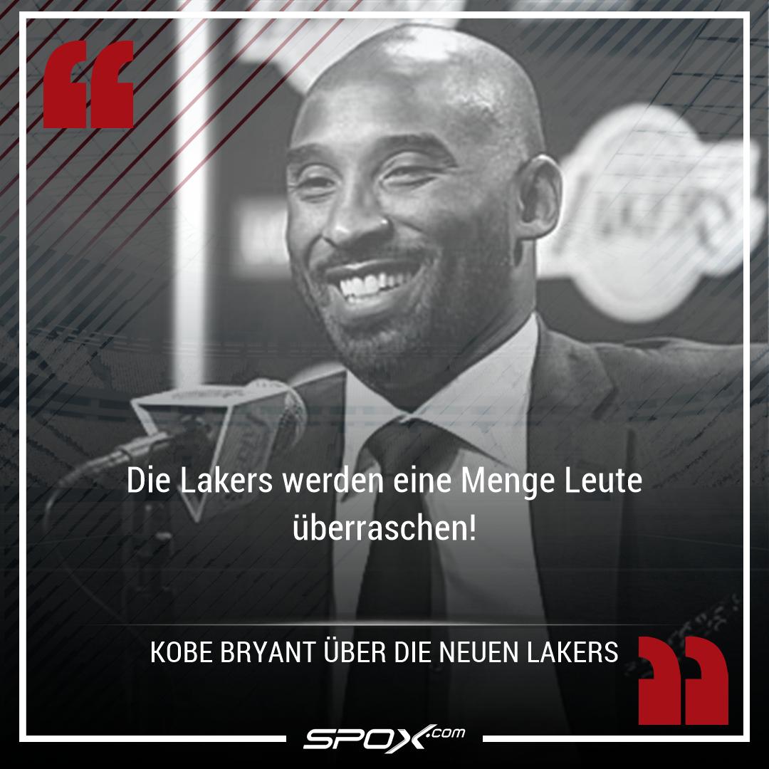 Los Angeles @Lakers-Legende Kobe Bryant traut dem neuen Team von @KingJames in der neuen Saison eine ganze Menge zu: https://t.co/dswFLS79yU