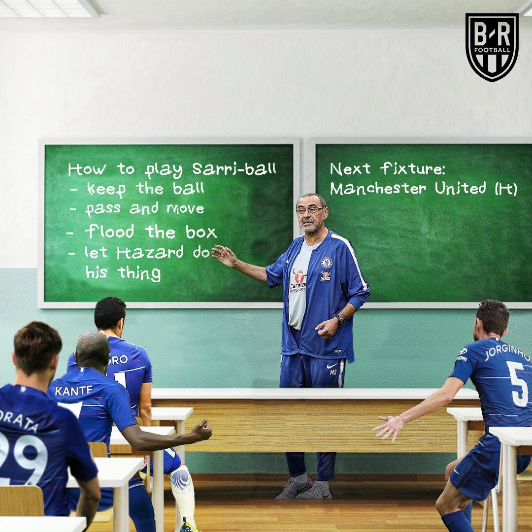 B/R Football's photo on Sarri