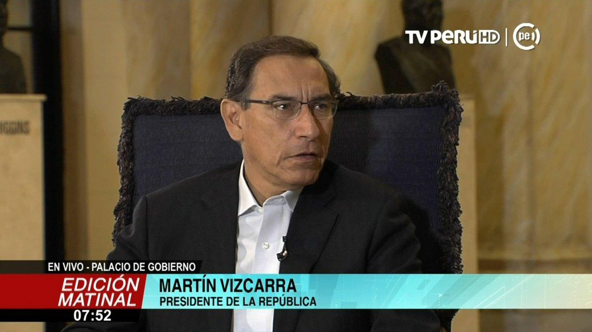 EN VIVO| Presidente @MartinVizcarraC da detalles de la captura de ex juez supremo César Hinostroza en España ►https://t.co/zDemP5CCT3 #TVPerúInforma