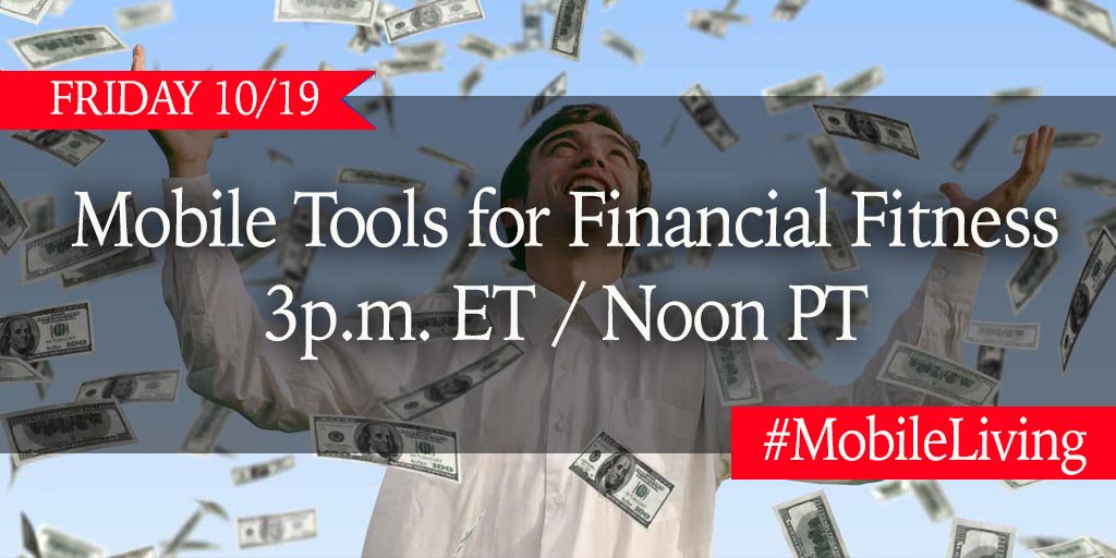 Who's planning on winning tonight's lottery #jackpot? Today's #MobileLiving chat about Financial Fitness is just what you need whether you win or not! Join the fun at 3pm ET / Noon PT! RSVP here for #prizes >  https://t.co/MfNDSmzdXM