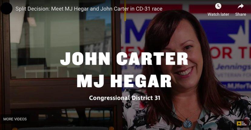 27ae15e8a ... show an empty chair in your place.  https://www.texastribune.org/2018/10/19/texas-2018-john-carter-mj-hegar-virtual-debate/  …pic.twitter.com/za0O2s6yiT
