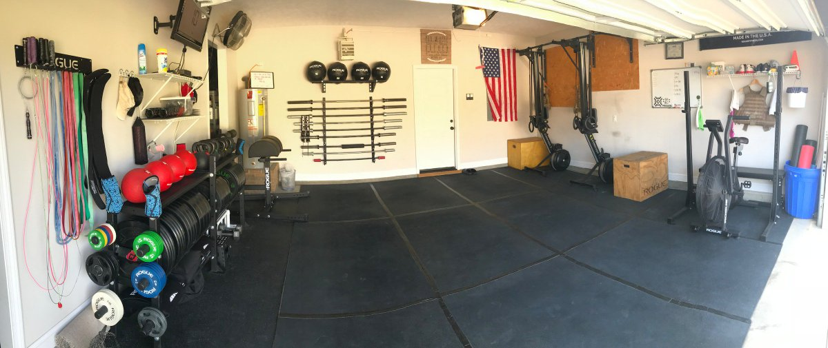 Building a complete rogue home gym garage gym lab