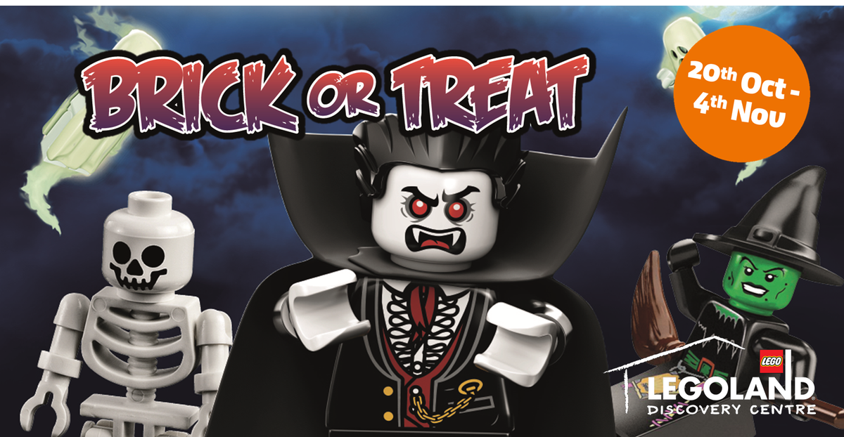 #AD Get into the #Halloween spirit @Legoland Discovery Centre this October with FREE ENTRY for little monsters in costume! LEGO building, scare-venger hunt, a meet and greet with the brand new vampire costume character and lots more! Book online to save! https://t.co/Vdy2s9wh02