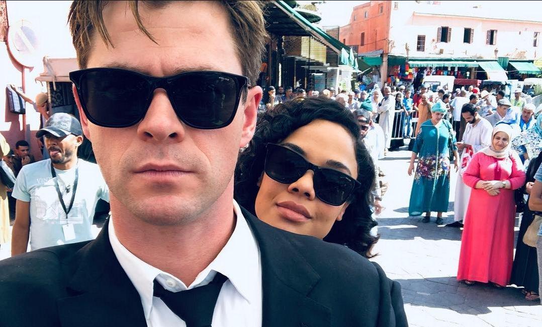 Chris Hemsworth annonce la fin du tournage de Men In Black 4 en images -  https://t.co/Ggu4COpiCt