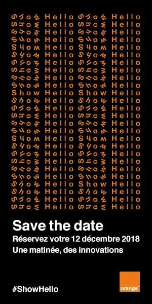 Orange: un Show #hello le 12 décembre #macg  https:// www.macg.co/ailleurs/2018/10/orange-un-show-hello-le-12-decembre-103982 #orange  - FestivalFocus