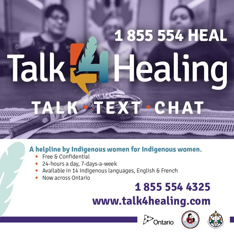 Ontario Native Women S Association On Twitter Beendigen