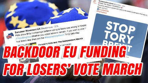 Backdoor EU Funding For Losers' Vote https://t.co/WpwzLHp6gL