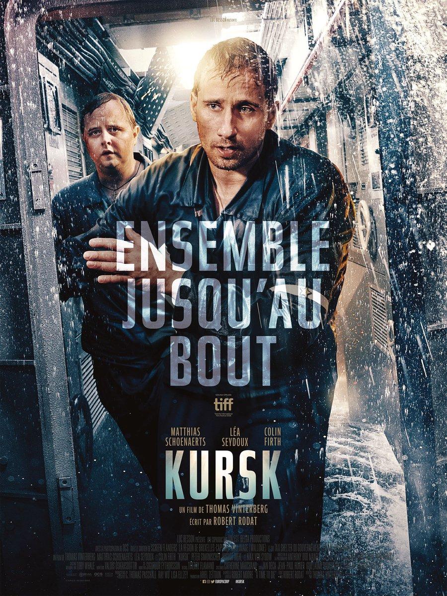 Les affiches personnages de #Kursk, le film de Thomas Vinterberg qui retrace l'histoire tragique du sous-marin russe, avec Matthias Schoenaerts, Colin Firth et Léa Seydoux. Au cinéma le 7 novembre.