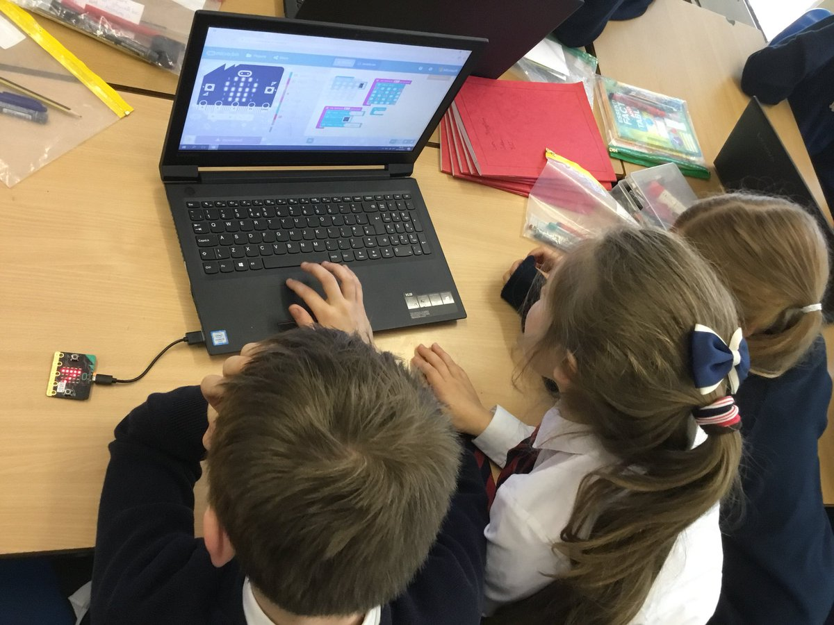 test Twitter Media - RT @GorseyY5: Getting to grips with the input functions of Micro:bits! @microbit_edu #gorseycomputing https://t.co/THD5BtbO9l