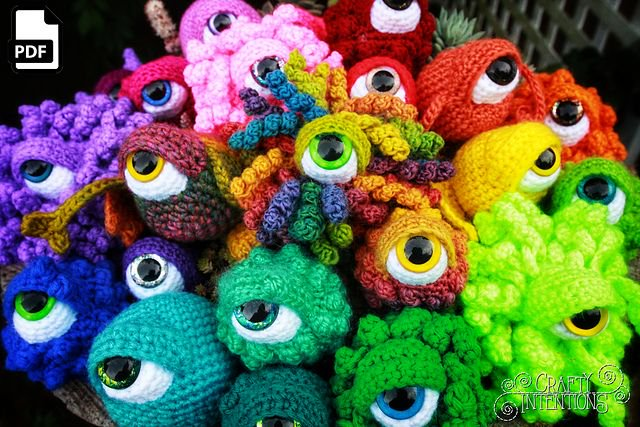 Crochet cat Amigurumi Green hand knitted cat Gift ideas for | Etsy | 427x640