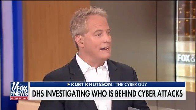 .@cyberguy Kurt Knutsson weighs in on cybersecurity threats @FoxFriendsFirst https://t.co/5gzJXVof9E