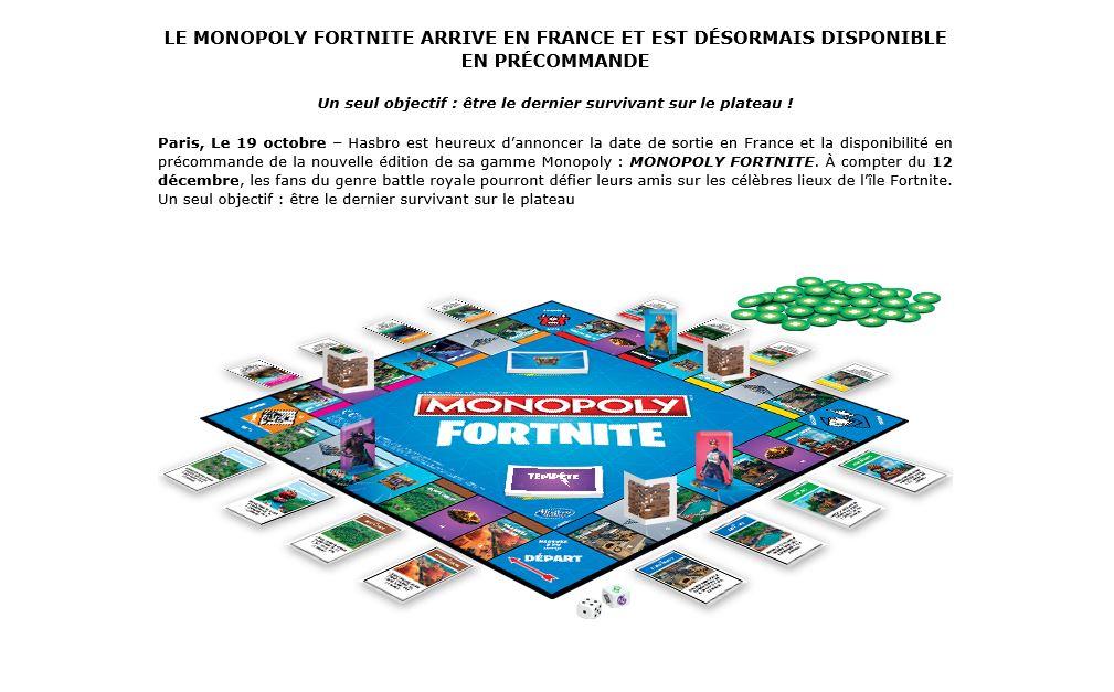 chloe woitier on twitter ah oui donc les regles n ont plus rien a voir avec un monopoly - date de sortie monopoly fortnite