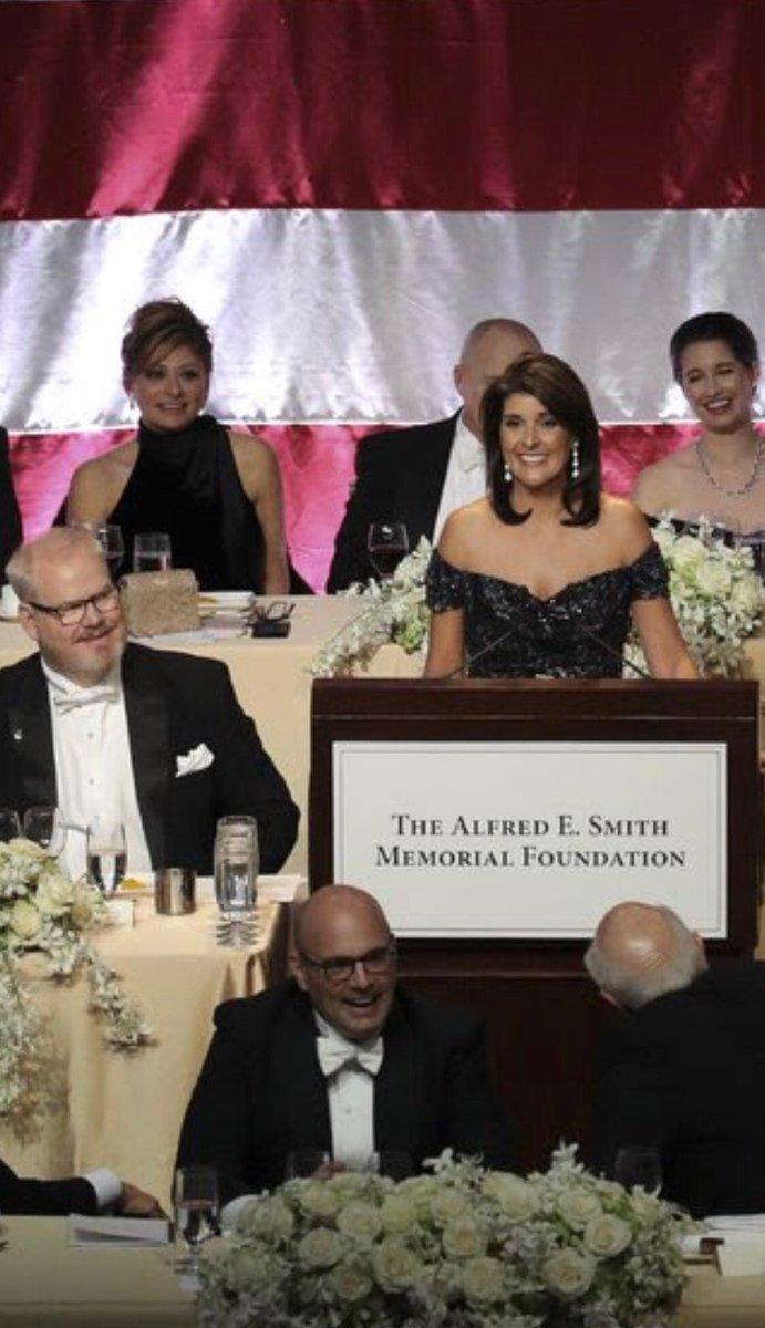 STAR IS BORN: Nikki Haley headlines Al Smith dinner...