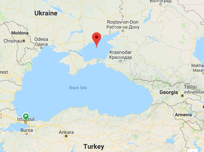Russian training aircraft crashes over the Sea of Azov. Pilots are feared dead. - Defence ministry.