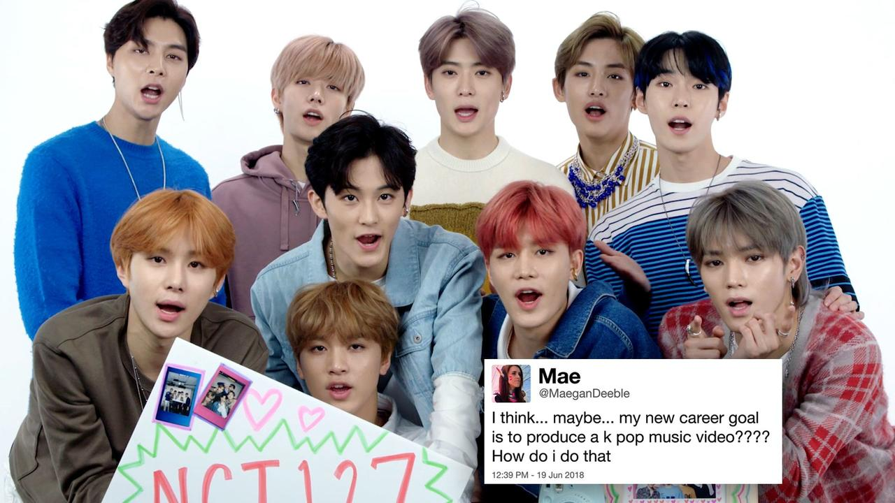 Have questions about K-Pop? @NCTsmtown_127 answers your Twitter questions: https://t.co/NFxSySDoGa
