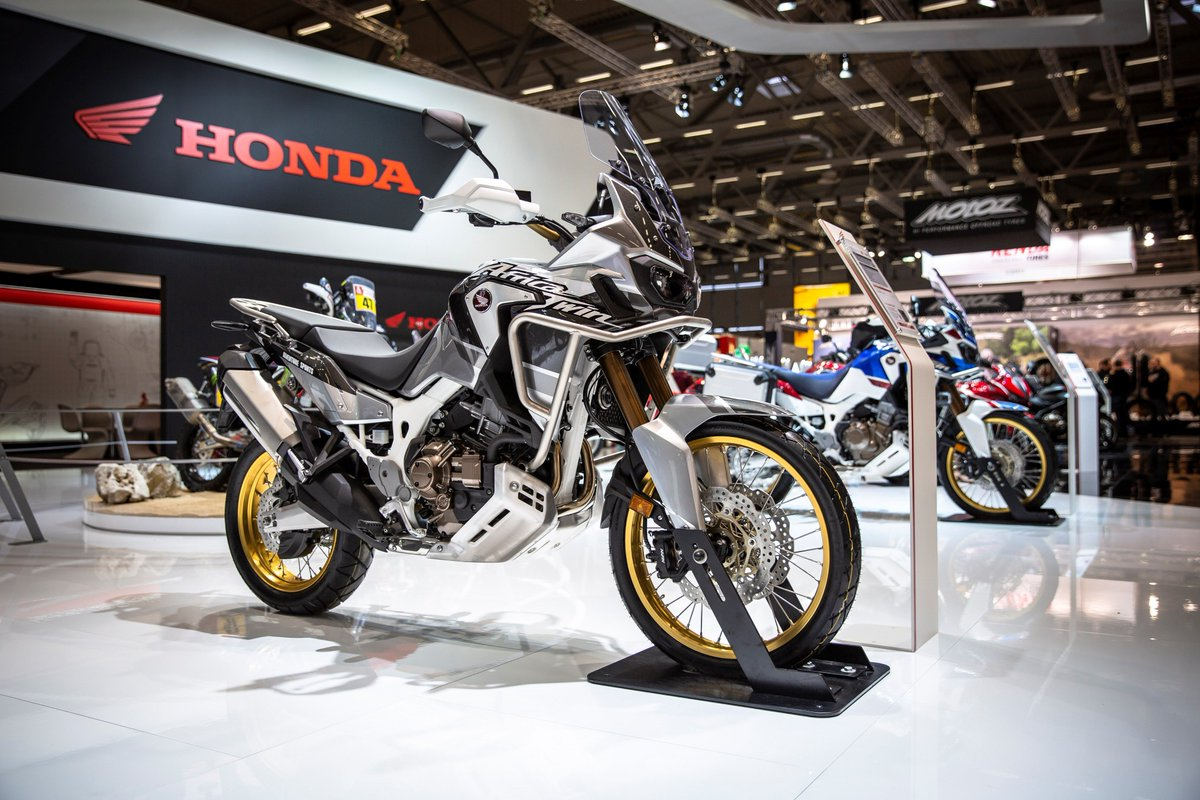 powerdrift on twitter 2019 honda africatwin crf1000l gets new colours base model comes in. Black Bedroom Furniture Sets. Home Design Ideas
