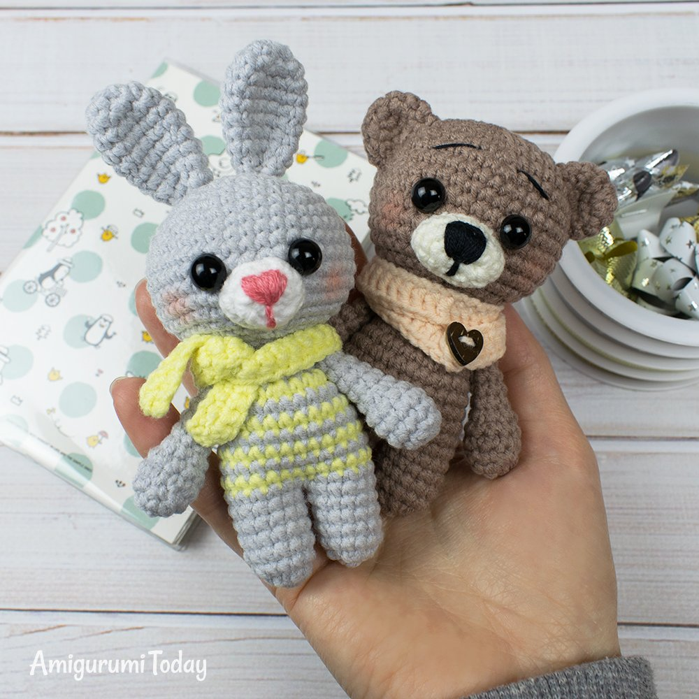 Tiny deer amigurumi pattern | Crochet patterns amigurumi, Crochet ... | 1000x1000