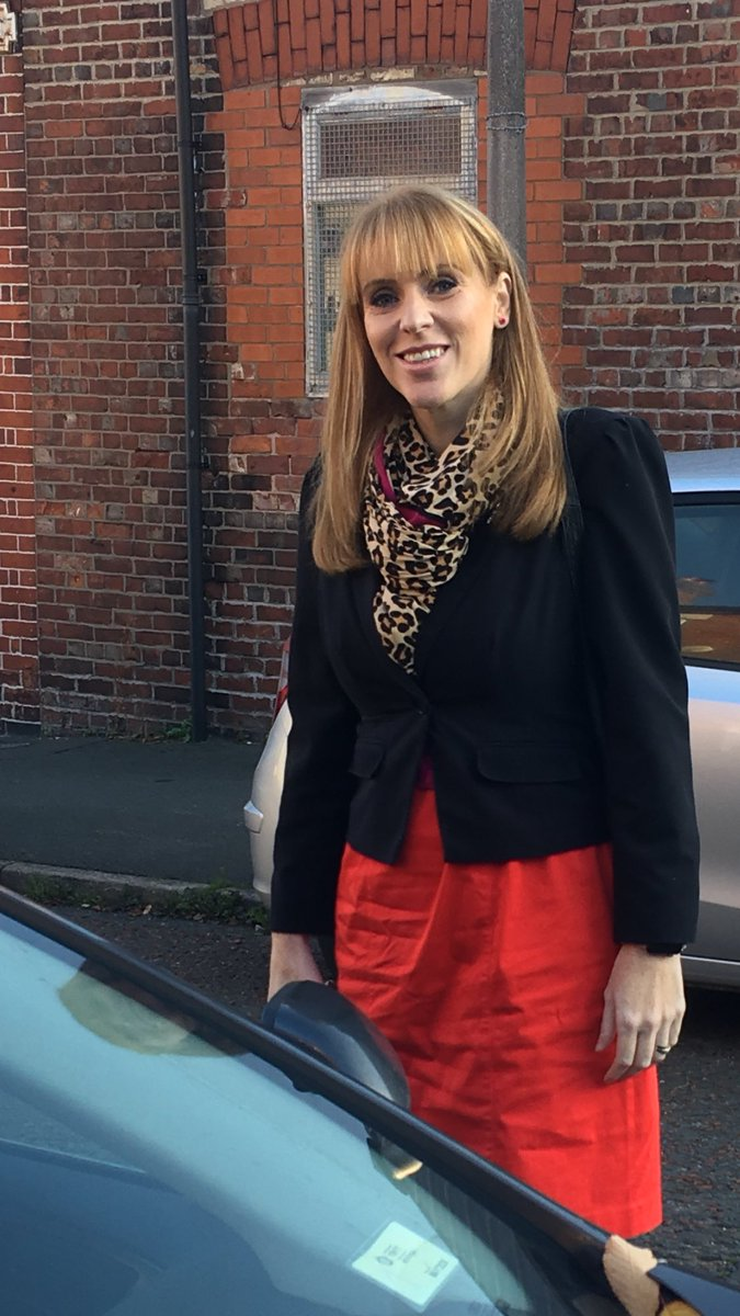 """Angela Rayner on Twitter: """"Arriving at my first meeting earlier this morning wearing one of my favourite Red dresses as part of 'Wear Red Day' and supporting @SRTRC_England #WRD18 #ShowRacismTheRedCard… https://t.co/O4IEYeHWMN"""""""