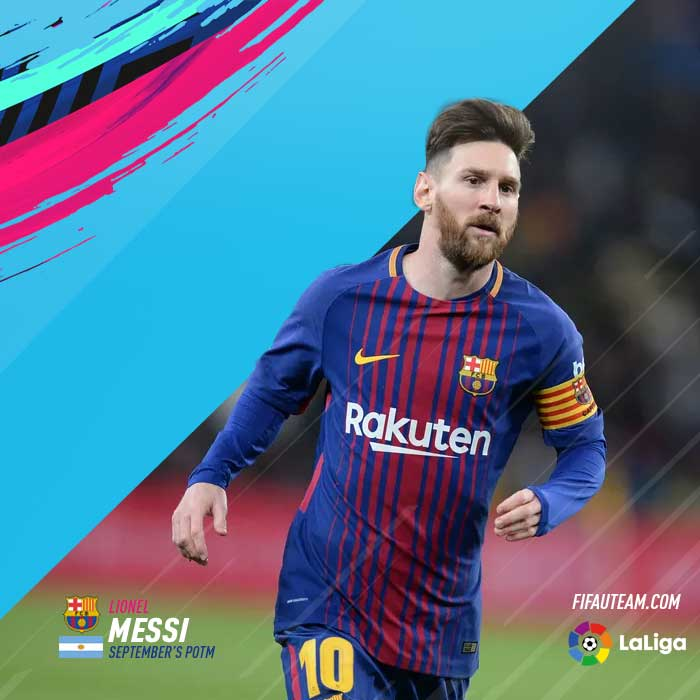 FIFA 19 LaLiga Player of the Month - All FIFA 19 POTM Cards
