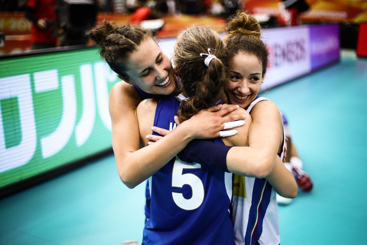 ItaliaTeam's photo on #VolleyMondiali18