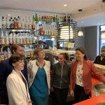 Image for the Tweet beginning: Belle visite au Kiwi Bar