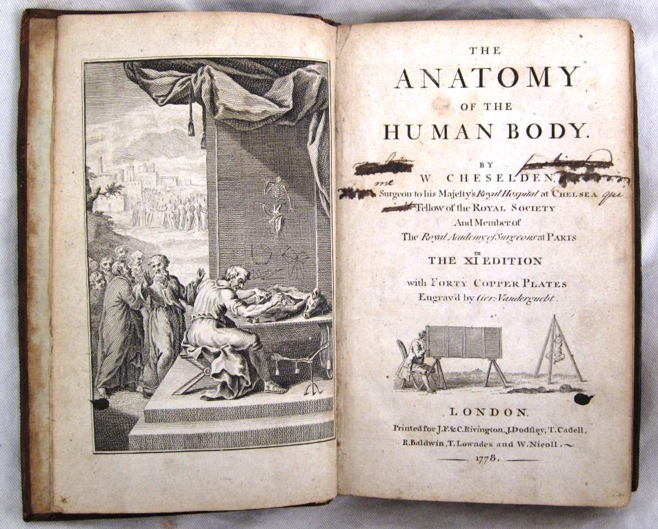 Happy Birthday William Cheselden! 18th C surgical pioneer. He was the first to perform iridectomy - the removal of part of the iris to treat blindness, and invented a procedure to remove bladder stones in just a few minutes. Pic of his work from our Library collections.