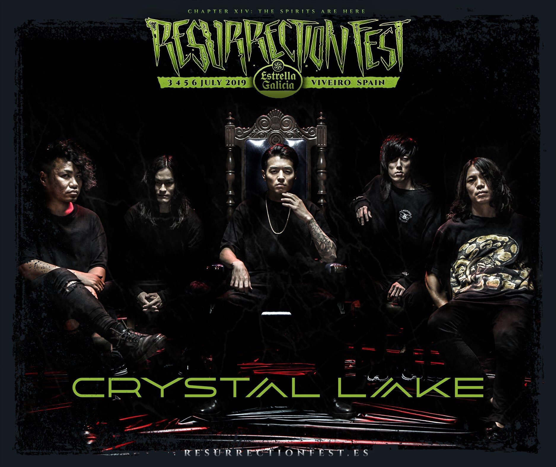 de614267d Crystal Lake (New album HELIX out now) on Twitter: