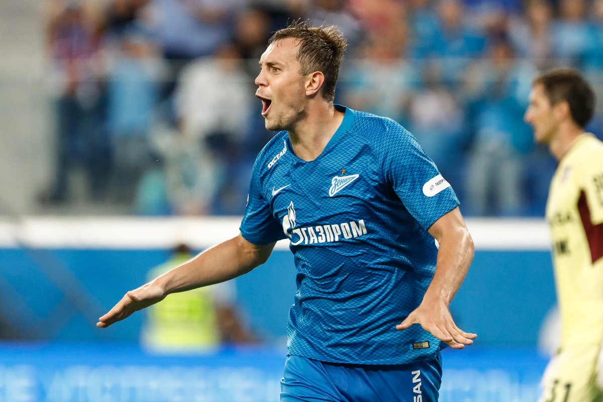 🌊 Artem Dzyuba to score _____ goals against Dynamo Moscow on Sunday 🤔 #UEL