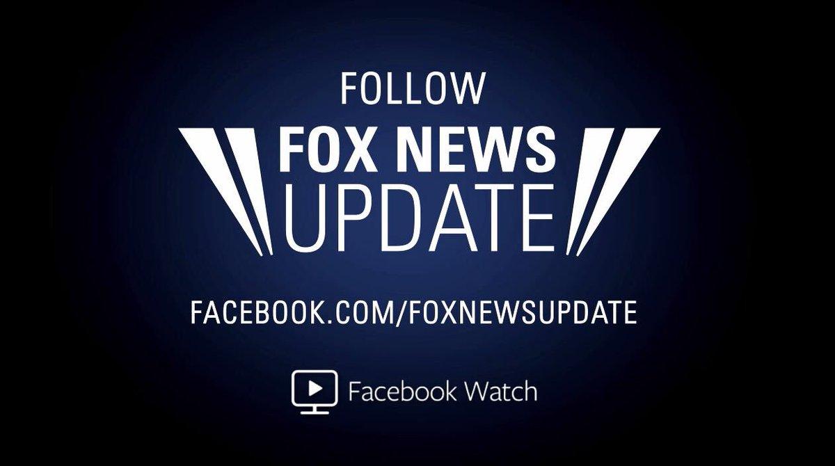 .@schmittnyc is live with the 'Fox News Update' on Facebook Watch: https://t.co/bM0Hk1TWdo