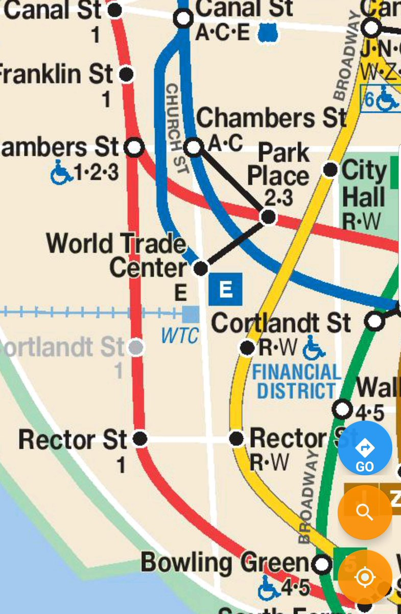 Nyc Subway Map W Line.Nyct Subway On Twitter Hello Marc By Using The Dey St Passageway
