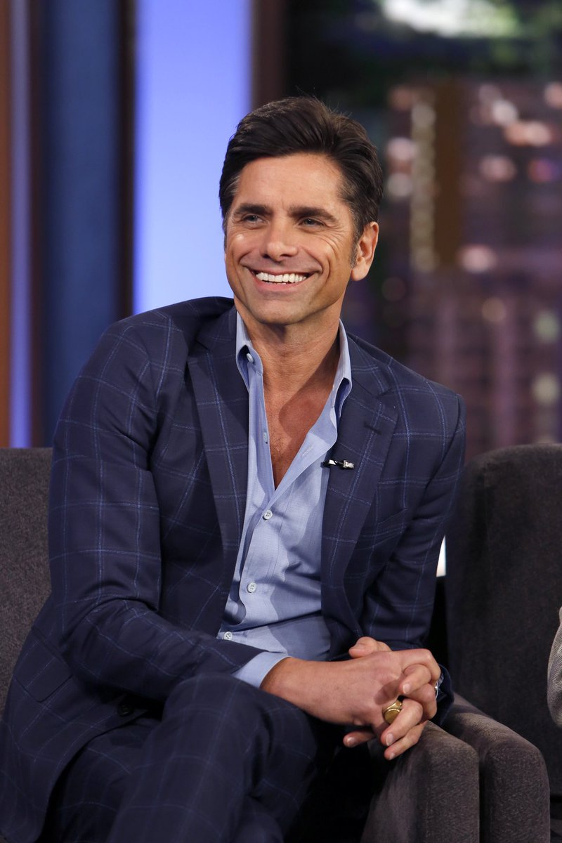 "COMING UP: @JohnStamos joins us to talk about his new Lifetime thriller ""You'! And the heartthrob has become a new dad - we'll take a walk down memory lane when he toured with the Beach Boys and got extra dad practice on Full House!"