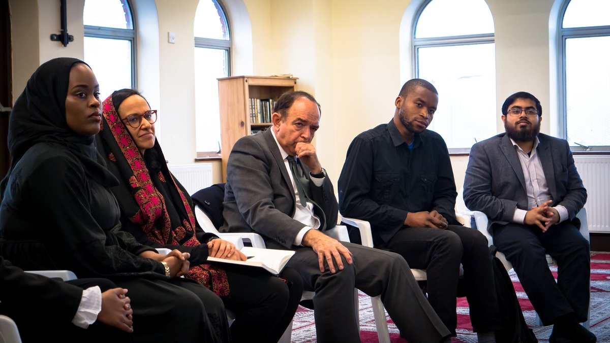 Faith Minister @nick__bourne visited  t@GICMosqueo meet Christians and Muslims of different backgrounds and hear their experiences of racial and religious intolerance.