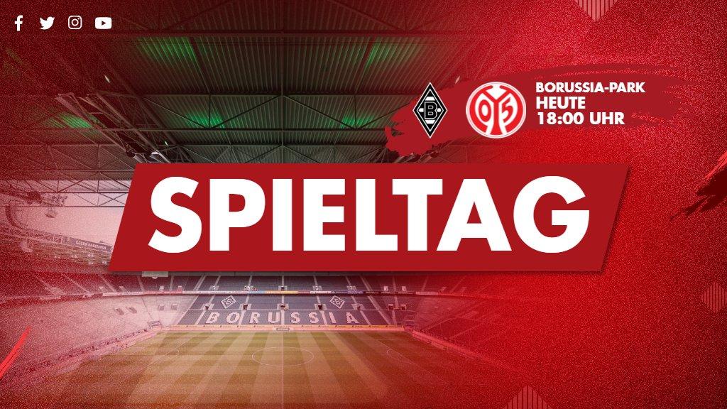 SPIELTAG! In Mönchengladbach kämpft #Mainz05 heute Abend um #Bundesliga-Punkte! ✊ #BMGM05