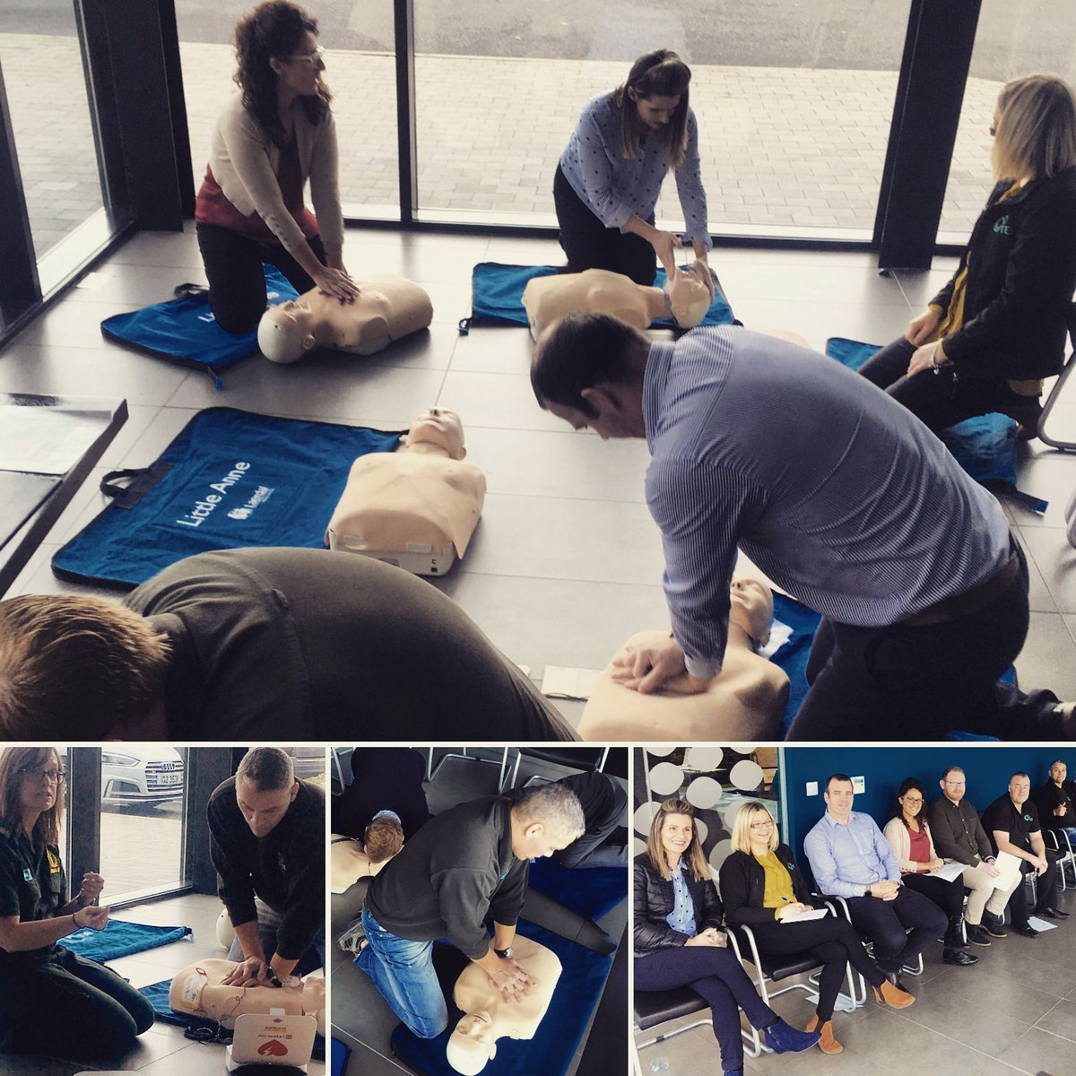 test Twitter Media - We were delighted to participate in Restart a Heart week, with TES staff members receiving CPR training today from @NIAS999  #restartaheart #communityoflifesavers https://t.co/R4CPs7JvZj