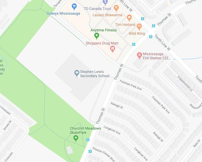 Peel Regional Police On Twitter Following School Is In Lockdown Stephen Lewis Public Secondary School