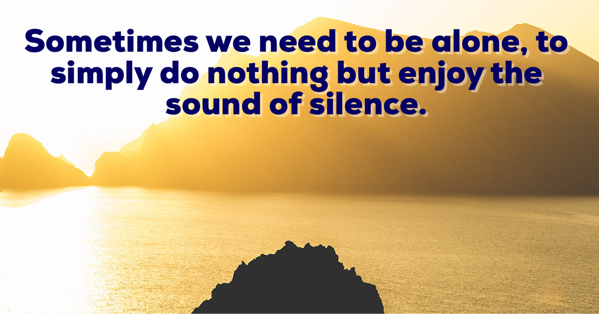 #MorningVibe Consider using isolation as time spent for rest, reinvigoration, & personal growth. Isolation can then not only empower you, but it can allow you to return to your work & your relationships restored and ready for life. #DailyOm #BeGoodToYourself #HonorYourTruth