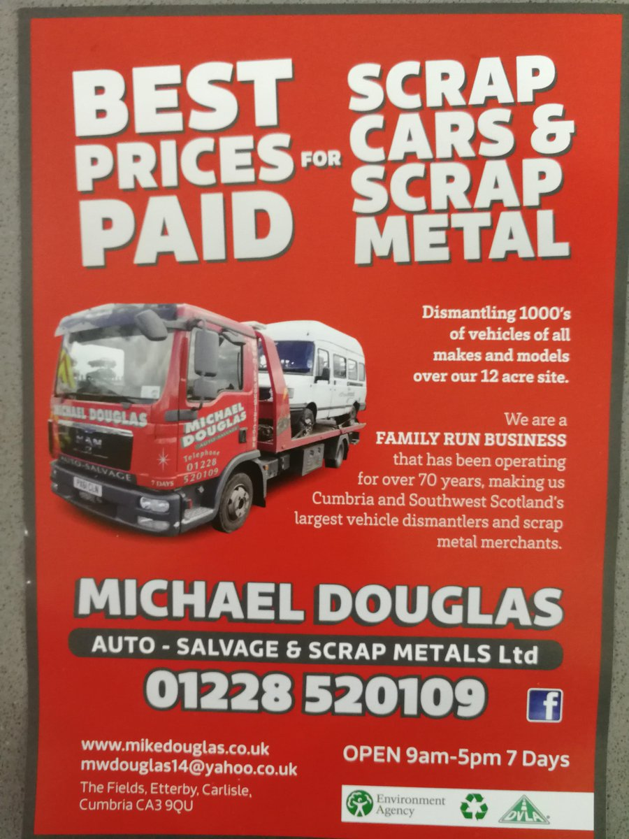 Carlisle Auto Salvage >> Letterbox Smart Leaflet Distribution Cumbria On Twitter