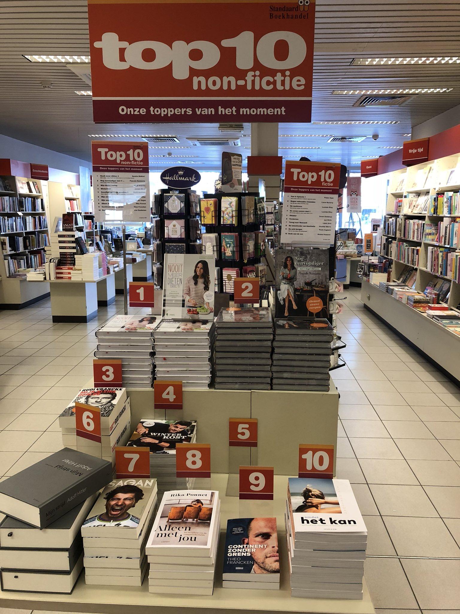 Louis Ide On Twitter In Gent Zijn Er 2 Soorten Boeken Top 10 Deze